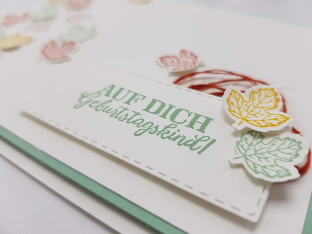 Herbst – Stampin´Unlimited Bloghop