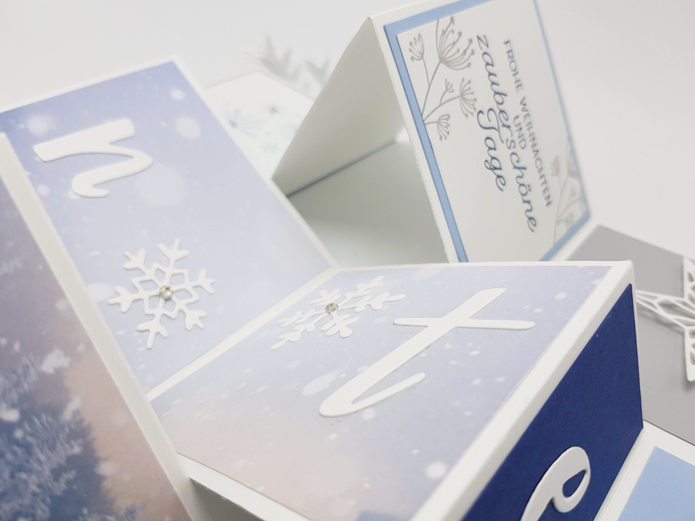 Flip-Book-Card Winterzauber