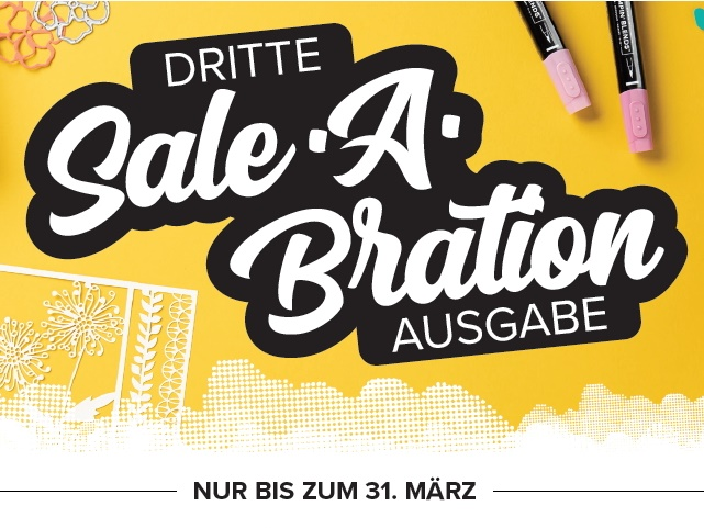 Sale-a-bration-Endspurt!